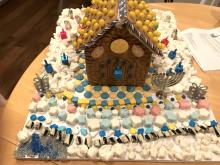 Dara's Hannukah House by Dara Rauschberg of Parsippany